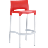 Gio Stool - Red - Commercial Bar Stools