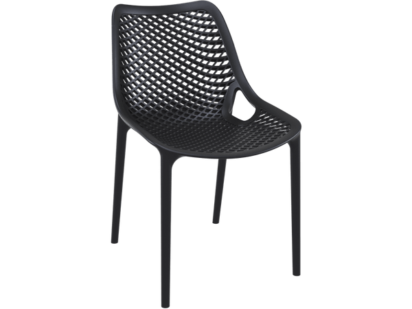 Air Chair - Outdoor Chairs - Front - Black