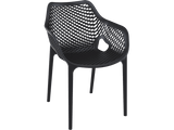 Air XL Armchairs  - Outdoor Chairs - Front - Black