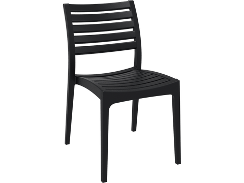 Ares Chair - Front - Black