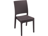 Florida Outdoor Chairs - front - Chocolate