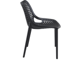 Air Chair - Outdoor Chairs - Side - Black