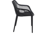 Air XL Armchairs  - Outdoor Chairs - Side - Black