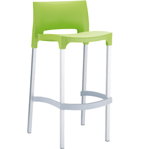 Gio Stool - Low Back Bar Stool - gio Bar Stool Bar The Stool