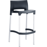 Gio Stool - Black - Commercial Bar Stools