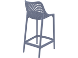 Air 65 Outdoor Bar Stools - Anthracite - Back