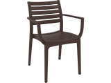 Artemis Armchair - Front - Chocolate