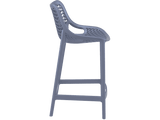 Air 65 Outdoor Bar Stools - Anthracite - Side
