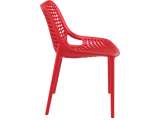 Air Chair - Outdoor Chairs - Side - Red