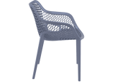 Air XL Armchairs  - Outdoor Chairs - Side - Anthracite
