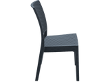 Florida Outdoor Chairs - Side - Anthracite