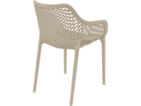 Air XL Armchairs  - Outdoor Chairs - Back - Taupe