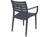 Artemis Armchair - Back - Anthracite