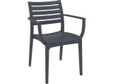 Artemis Armchair - Front - Anthacite