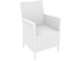California Tub Chair - Without Cushion - White - Front