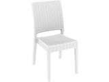 Florida Outdoor Chairs - Front - White