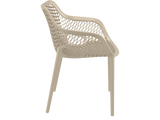 Air XL Armchairs  - Outdoor Chairs - Side - Taupe