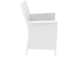 California Tub Chair - With Cushion - White - Side
