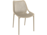Air Chair - Outdoor Chairs - Front - Taupe