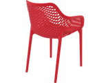 Air XL Armchairs  - Outdoor Chairs - Back - Red