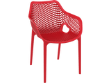 Air XL Armchairs  - Outdoor Chairs - Front - Red