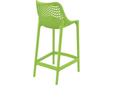Air 65 Outdoor Bar Stools - Green - Back