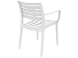 Artemis Armchair - Back - White