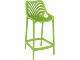 Air 65 Outdoor Bar Stools - Green - Front