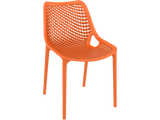 Air Chair - Outdoor Chairs - Front - Orange