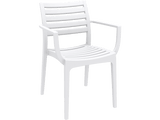 Artemis Armchair - Front - White
