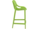 Air 65 Outdoor Bar Stools - Green - Side