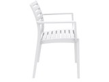 Artemis Armchair - Side - White
