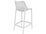 Air 65 Outdoor Bar Stools - White - Back