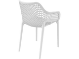 Air XL Armchairs  - Outdoor Chairs - Back - White