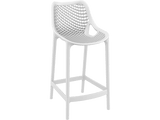 Air 65 Outdoor Bar Stools - White - Front