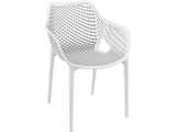 Air XL Armchairs  - Outdoor Chairs - Front - White