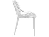 Air Chair - Outdoor Chairs - Side - White