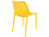 Air Chair - Outdoor Chairs - Back - Yellow