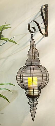 Iron Wall Lantern - Industrial Lighting