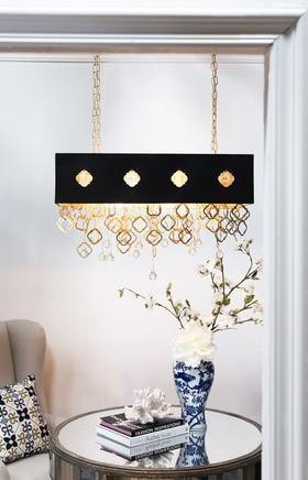AVDEON 2 Light Rectangle Hanging Light Shade - AV40858