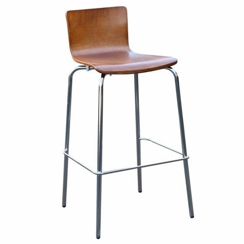 Avoca Low Back Bar Stool - Timber Seat Bar Stools - avoca Bar Stool Bar The Stool