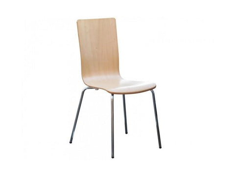 Avoca Dining Chairs - Front - Beech