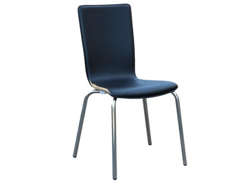 Avoca PVC Dining Chairs Chair Bar The Stool