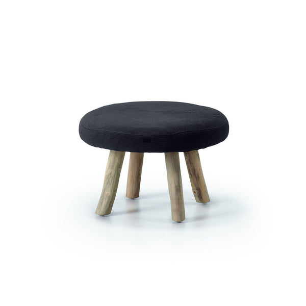 Bijou Blackstump - Low Stool - C196J01 Low Stools Bar The Stool
