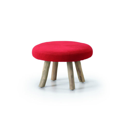 Bijou Blackstump - Red - Low Stool