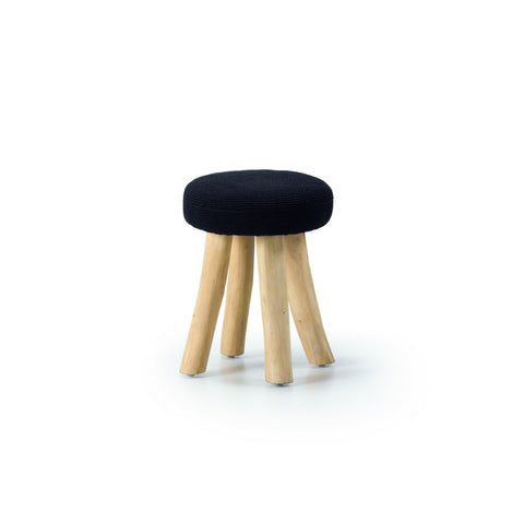 Mallee Black - C197J01 - Low Stool Low Stools Bar The Stool