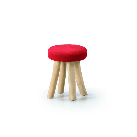 Mallee Red - C197J04 - Low Stool Low Stools Bar The Stool