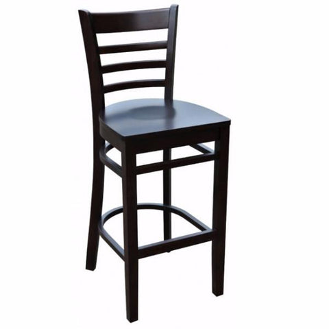 Florence Bar Stool - Timber Seat - florT - Bar The Stool - 1