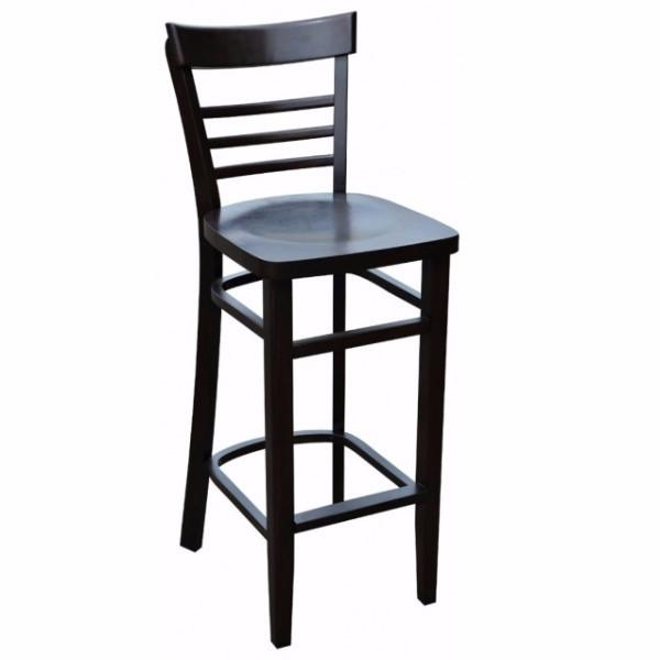 Vienna Bar Stool - Timber Seat - viennaT - Bar The Stool - 1