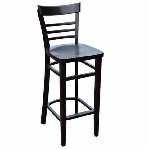 Vienna Timber Bar Stools - Timber Seat - viennaT Bar Stool Bar The Stool
